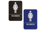 "ADA106_206 - Women ADA Compliant Sign, 6"" x 9"""