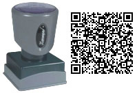 QR Contact Stamp
