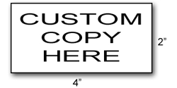 RS07 - Extra-Extra Large Rubber Stamp