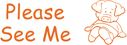 35164 - Please See Me Teacher Stamp