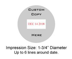 TRODAT5415D - Trodat 5415 Date Stamp